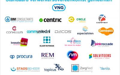 BMconsultants commiteert zich aan standaard verwerkersoverseenkomst VNG